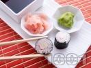 Снимка на рецепта Суши Хосо Маки с рулца от раци